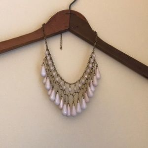 Jewelry - Palest pink collar necklace